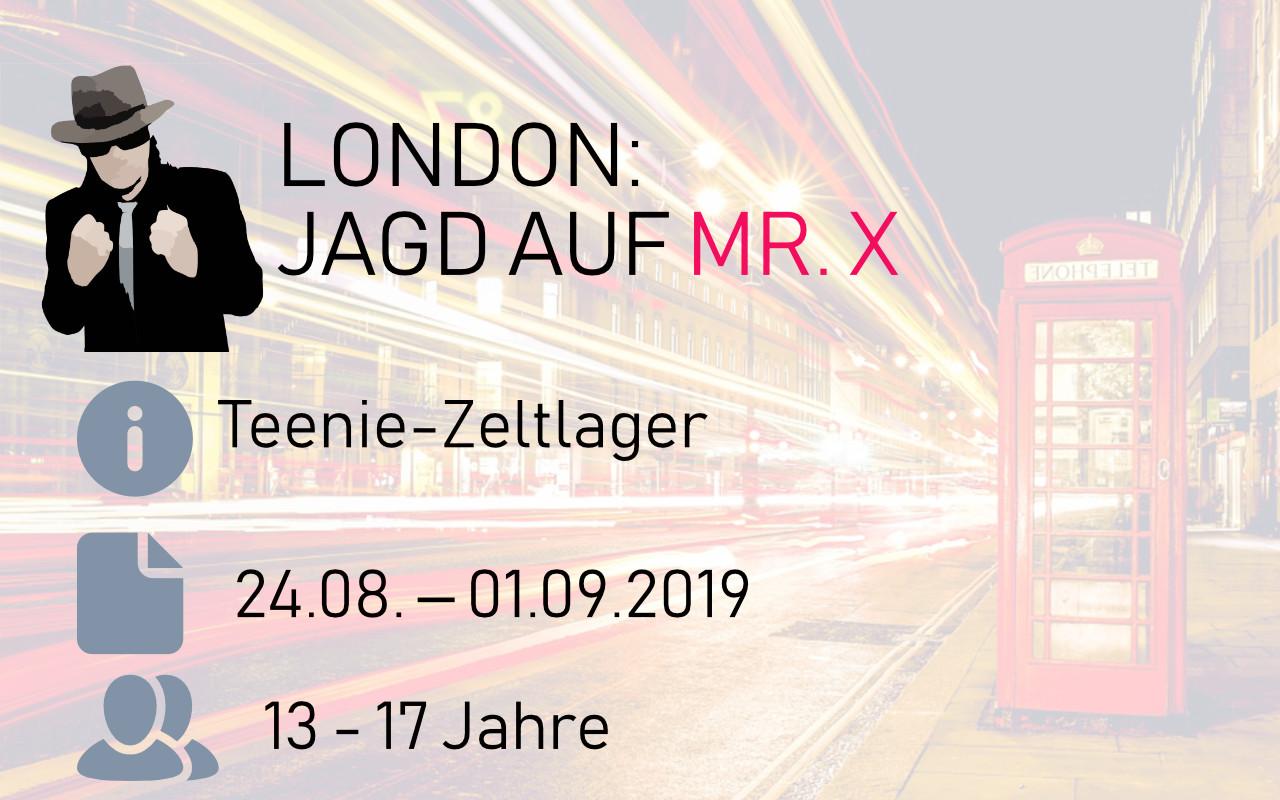 """SOLA 2019 """"London: Jagd auf Mr. X"""", vom 24.08. - 01.09.2019"""