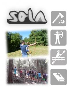 Zeltlager SOLA Collage
